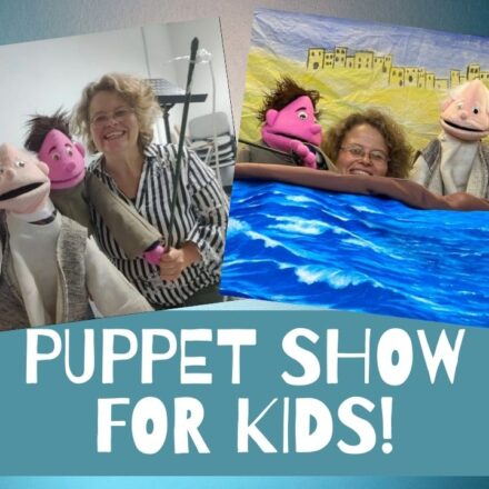 Puppet show for kids!